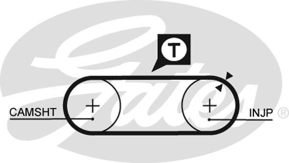 Slika GATES - KP65323XS - Pumpa za vodu + komplet zupčastog kaiša (Hlađenje)