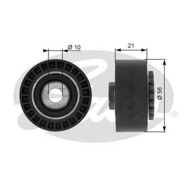 Slika GATES - T36052 - Zatezač, klinasti rebrasti kaiš (Kaišni prenos)