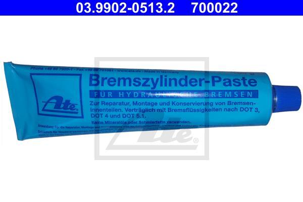 ATE - 03.9902-0513.2 - Pasta, hidraulični delovi kočnice/kvačila (Hemijski proizvodi)