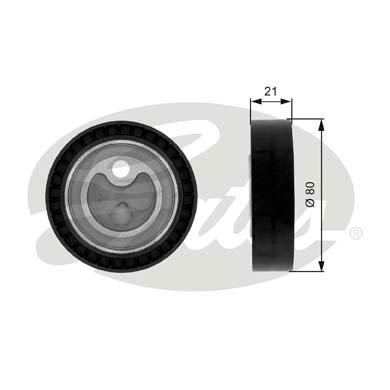 Slika GATES - T38070 - Zatezač, klinasti rebrasti kaiš (Kaišni prenos)