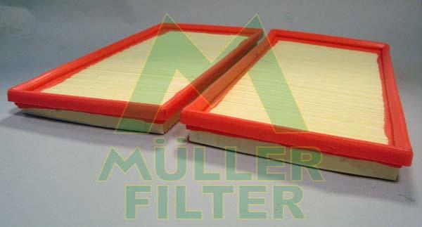 Slika MULLER FILTER - PA3409x2 - Filter za vazduh (Sistem za dovod vazduha)