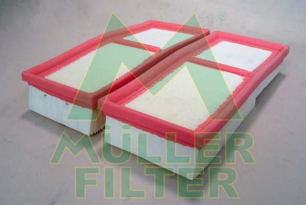 Slika MULLER FILTER - PA3412x2 - Filter za vazduh (Sistem za dovod vazduha)