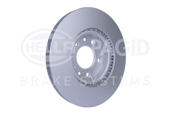 Slika HELLA PAGID - 8DD 355 115-771 - Kočioni disk (Kočioni uređaj)