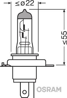 Slika OSRAM - 64193CBI - Sijalica, far za dugo svetlo (Osvetljenje)