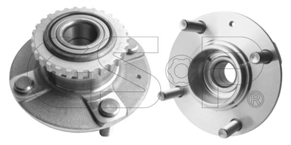 Slika GSP - 9228028 - Komplet ležaja točka (Vešanje točkova)