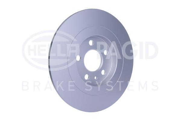 Slika HELLA PAGID - 8DD 355 109-151 - Kočioni disk (Kočioni uređaj)