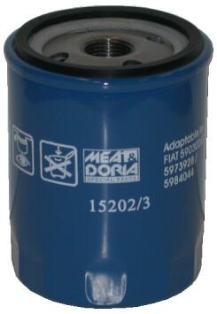 Slika MEAT & DORIA - 15202/3 - Filter za ulje (Podmazivanje)