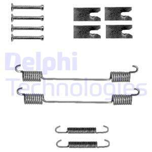 Slika DELPHI - LY1327 - Komplet pribora, kočne papuče (Kočioni uređaj)