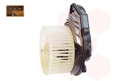 Slika VAN WEZEL - 7634773 - Ventilator kabine/unutrašnjeg prostora (Grejanje/ventilacija)