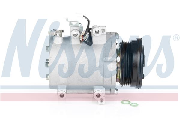 Slika NISSENS - 89349 - Kompresor, klima-uređaj (Klima-uređaj)