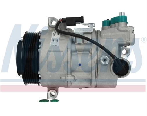 Slika NISSENS - 89043 - Kompresor, klima-uređaj (Klima-uređaj)