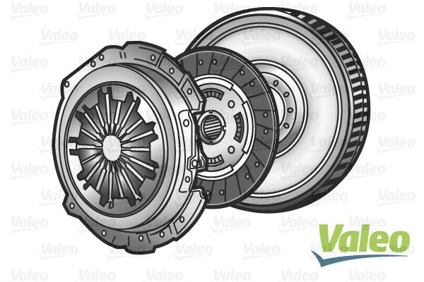 Slika VALEO - 835051 - Komplet kvačila (Kvačilo/spojnica)