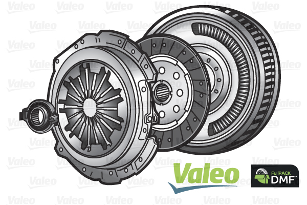 Slika VALEO - 837086 - Komplet kvačila (Kvačilo/spojnica)