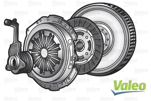 Slika VALEO - 845077 - Komplet kvačila (Kvačilo/spojnica)