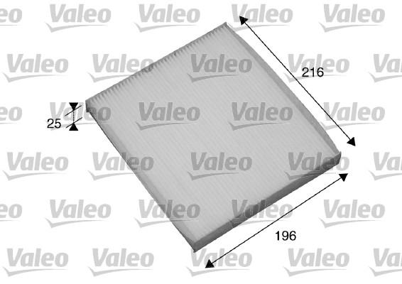 Slika VALEO - 698870 - Filter, vazduh unutrašnjeg prostora (Grejanje/ventilacija)