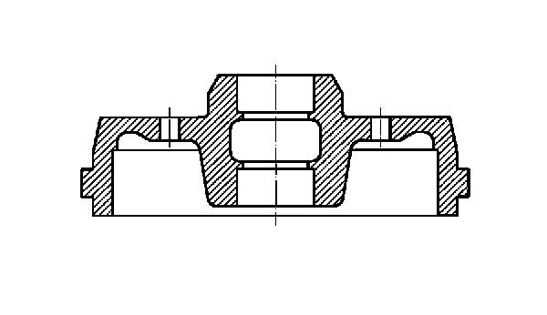 Slika METELLI - 18-0406K - Doboš kočnice (Kočioni uređaj)