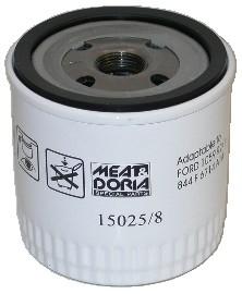 Slika MEAT & DORIA - 15025/8 - Filter za ulje (Podmazivanje)