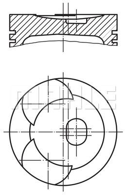 Slika MAHLE - 001 92 02 - Klip (Krivajni mehanizam)