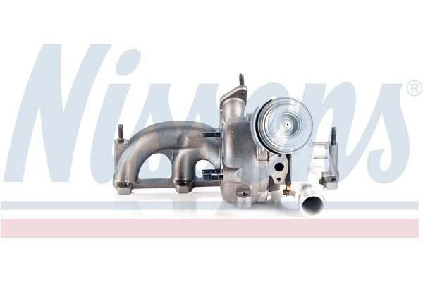 Slika NISSENS - 93090 - Kompresor, prehranjivač (Sistem za dovod vazduha)