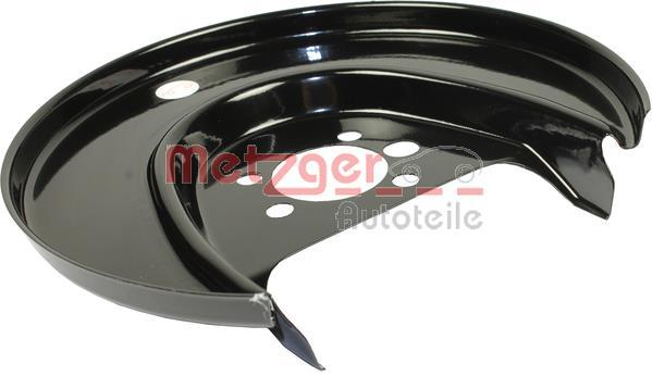 Slika METZGER - 6115055 - Lim za zaštitu od prskanja, kočioni disk (Kočioni uređaj)