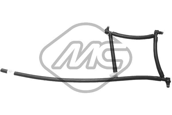 Slika Metalcaucho - 92047 - Garnitura vodova visokog pritiska, sistem za ubrizgavanje (Priprema smese)