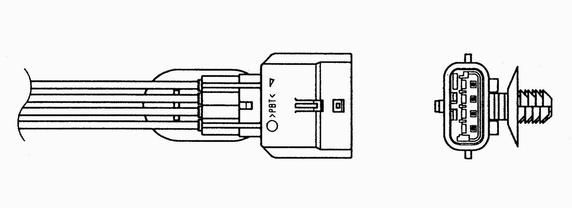 Slika NGK - 6517 - Lambda-sonda (Priprema smese)