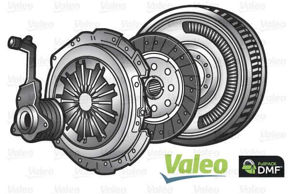 Slika VALEO - 837456 - Komplet kvačila (Kvačilo/spojnica)