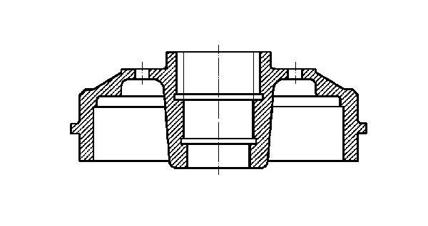 Slika METELLI - 18-0350 - Doboš kočnice (Kočioni uređaj)