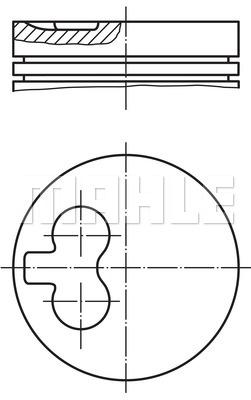 Slika MAHLE - 021 93 10 - Klip (Krivajni mehanizam)