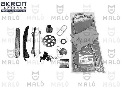 Slika AKRON-MALÒ - 909016AK - Garnitura razvodnog lanca (Sistem upravljanja motorom)