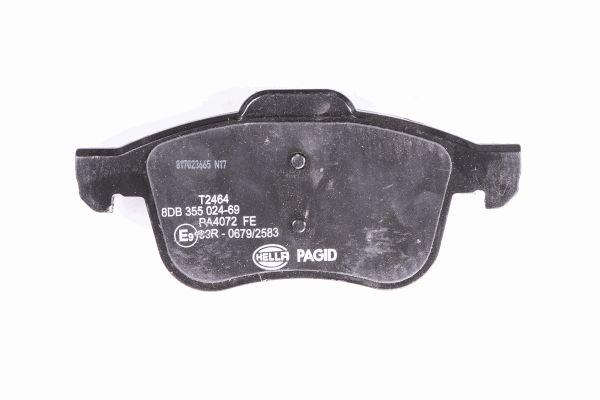 Slika HELLA PAGID - 8DB 355 024-691 - Komplet pločica, disk-kočnica (Kočioni uređaj)
