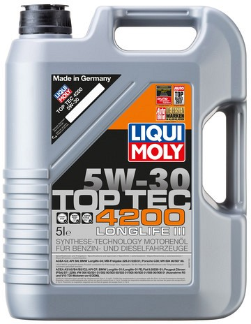 Picture of Liqui Moly Top Tec 4200 5W-30 5L