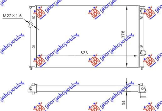 Slika GBG - 061406325 - Rešetka hladnjaka (Karoserija)