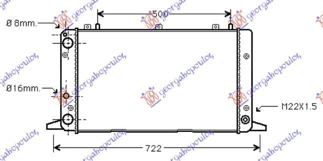 Slika GBG - 060806300 - Rešetka hladnjaka (Karoserija)