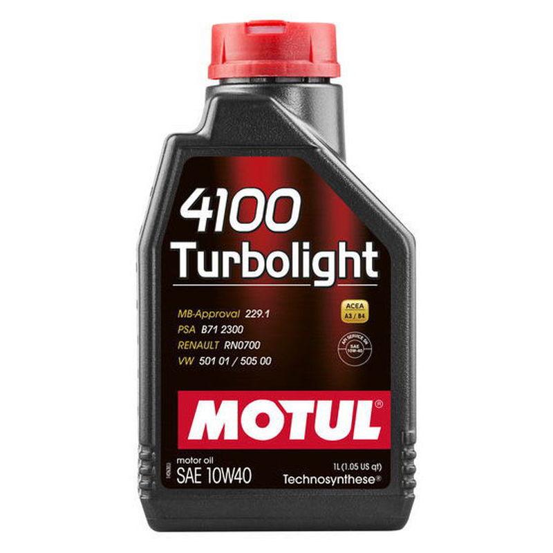 Slika MOTUL 4100 Turbolight 10W40 1 L