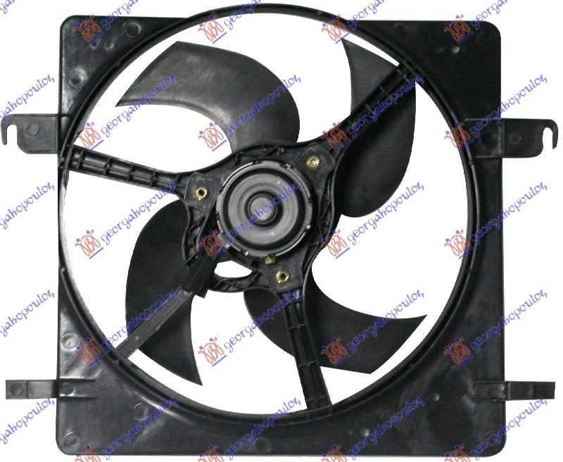 Slika GBG - 057106440 - Elektromotor, ventilator hladnjaka (Hlađenje)