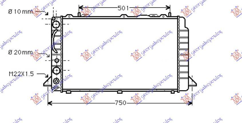Slika GBG - 061506330 - Rešetka hladnjaka (Karoserija)